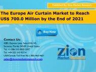 Europe Air Curtain Market