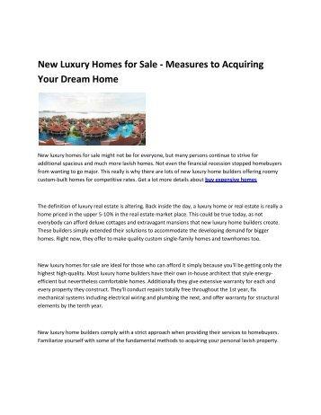 8 Luxury apartments