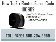 Call 18442003971 to Fix Router Error Code 10060