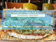 4 Tips for Healthy Dining Out
