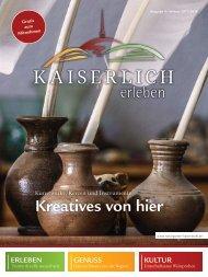 Kaiserlich Erleben, Ausgabe 4/2017