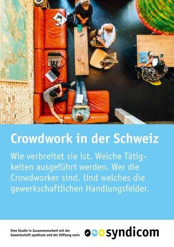 Crowdwork in der Schweiz
