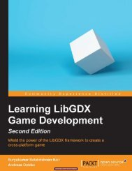 Learning LibGDX Game Development, 2nd Edition - PDF Books