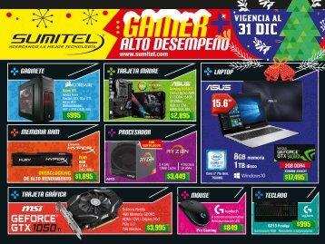 Catálogo de Tecnología Gamer SUMITEL Vig31Dic2017