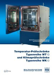 Test the best - Weiss Umwelttechnik GmbH