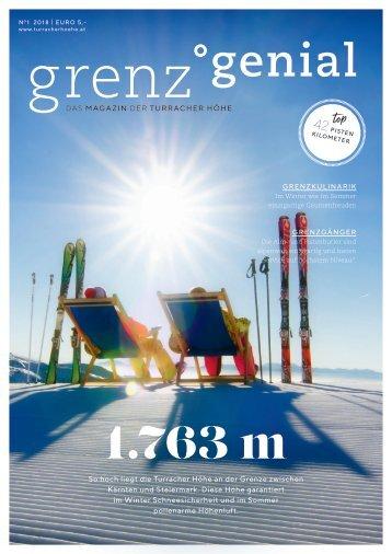 grenz°genial | Das Magazin der Turracher Höhe