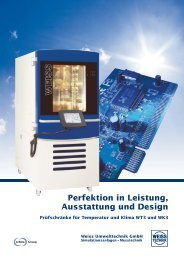 Perfektion in Leistung, Ausstattung und Design - Weiss ...