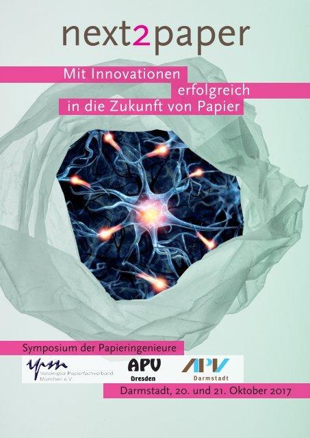 Tagungsband Symposium der Papieringenieure 2017