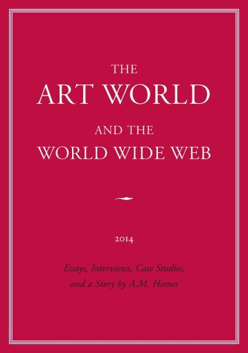 The Art World and the World Wide Web