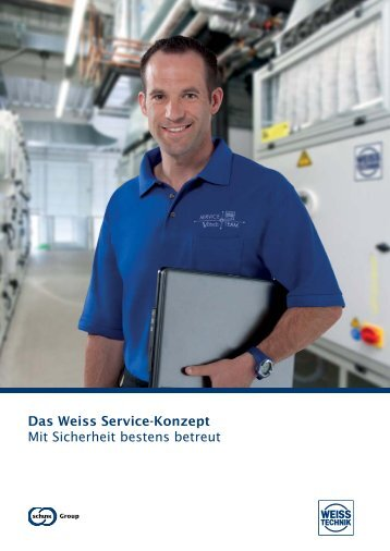 Service-Broschüre - Weiss Klimatechnik GmbH