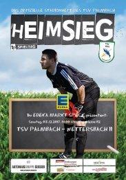 TSV Palmbach Saison 17-18 Heft 09