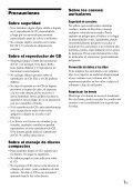 Sony D-NE330 - D-NE330 Consignes d'utilisation Portugais - Page 7
