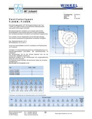 Katalog Ventilatoren und Schallschutz - Winkel Lufttechnik