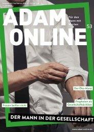 Adam online Nr. 53 Vorschau