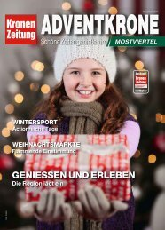 Advent Krone Mostviertel 2017-11-24