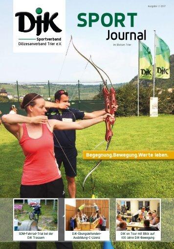 DJK Sportjournal im Bistum Trier - Ausgabe 1/2017