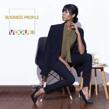 Vogue Tex Company Profile  2017