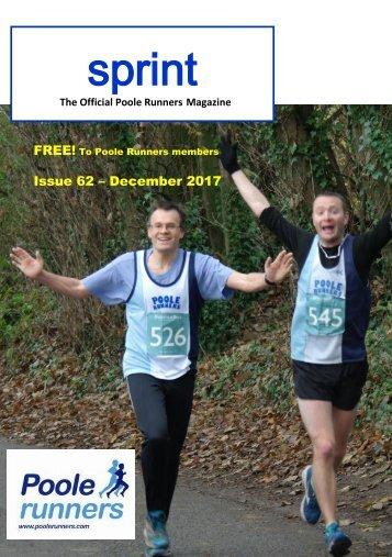 SPRINT Issue 62 - December 2017..