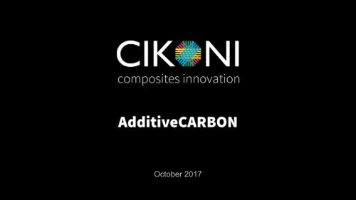 AdditiveCARBON - Hybrid Additive Manufacturing with Carbon Fiber Reinforcements