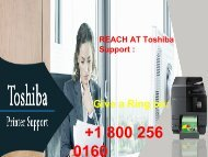 Toshiba_Printer_Support_Phone_Number