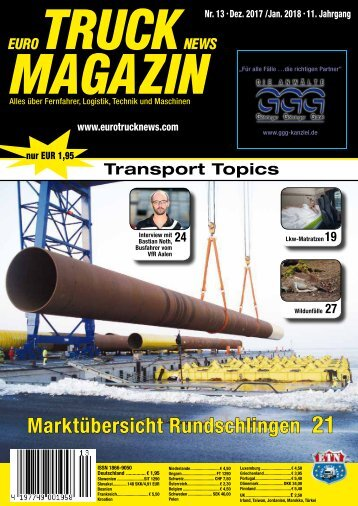 Euro Truck News Digital Nr. 13/2017