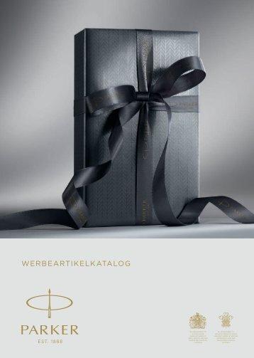 Ein hochwertiges Schreibgerät von Parker als Werbegeschenk, Werbemittel