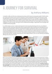 A Journey for Survival by Anthony Williams