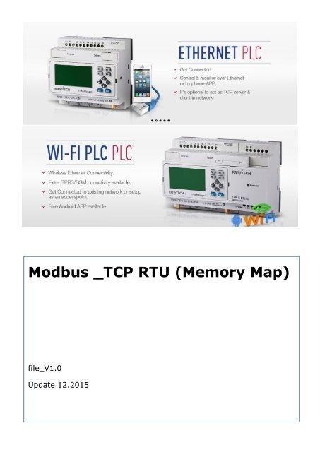 Modbus TCP Protocol User Manual