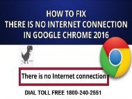 1866-218-2512 Fix Google Chrome There is No Internet Connection Error