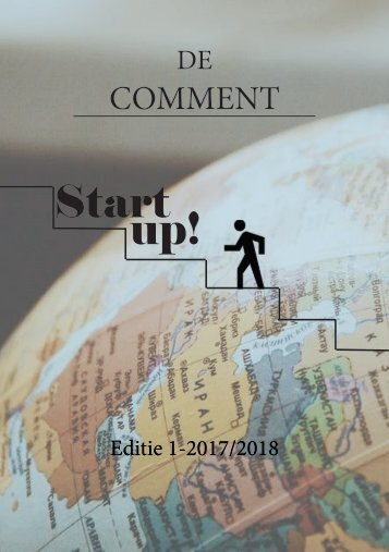Comment 1: Startup!
