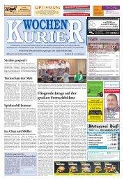 Wochen-Kurier 48/2017 - Lokalzeitung für Weiterstadt und Büttelborn