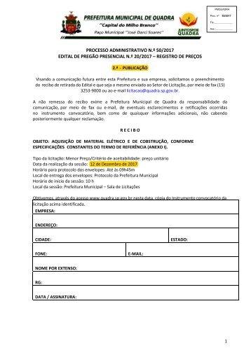 Edital PMQ PP 20_2017_Registro de Preços de material de construção_exclusivo MEPs