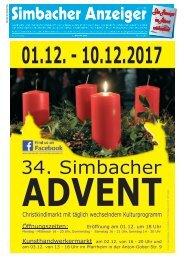1. Advent 2017 Simbacher Anzeiger