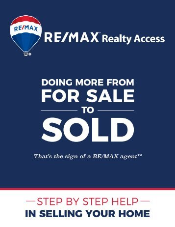 RE/MAX Realty Access Agents Listing Book