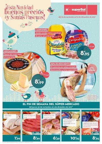 superSol supermercados Ofertas del 29 de Noviembre al 12 de Diciembre 2017