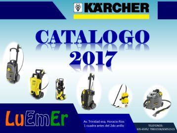 CATALOGO DE KARCHER