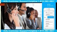 Support for AOL Email +1-844-292-4927 - AOL Technical Support USA