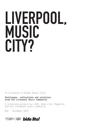 Liverpool, Music City? - Report