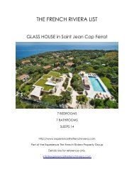 Glass House - Saint Jean Cap Ferrat
