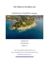 Pointe de la Fossette - Hyeres
