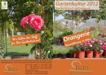 Gartenkultur 2012 - Baumschule Igel
