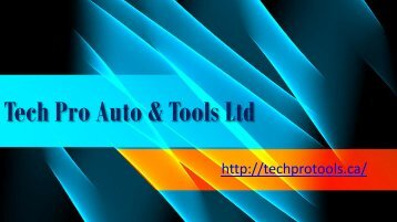 Automotive Electrical Tools
