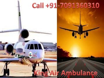 Emergency ICU Medical Air Ambulance Services in Shillong and Raipur at Low Fare