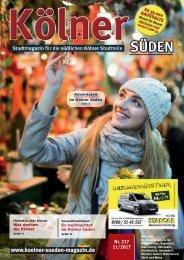 Kölner Süden Magazin Dezember 2017