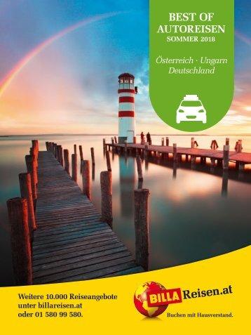 ITS Billa Reisen Sommerkatalog 2018 Autoreisen
