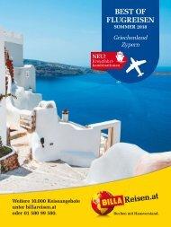 ITS Billa Reisen Sommerkatalog 2018 Griechenland & Zypern