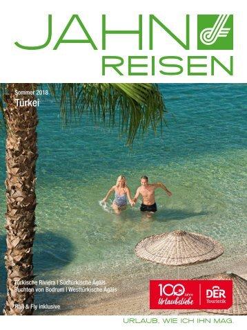 Jahn Reisen Austria Sommerkatalog 2018 Türkei
