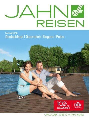 Jahn Reisen Austria Sommerkatalog 2018 Autoreisen