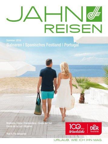 Jahn Reisen Austria Sommerkatalog 2018 Spanien & Portugal