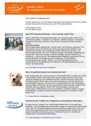 Sach-Newsletter Mai 2012 (PDF) - VPV Makler